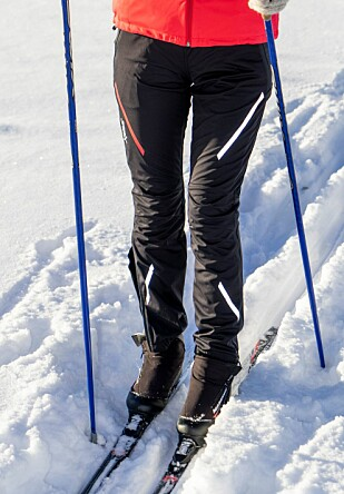 BESTE BUKSE: Swix Cross-buksen er hakket bedre enn PowderX, hovedsakelig på grunn av passform og bevegelsesfrihet. Foto: Per Ervland.