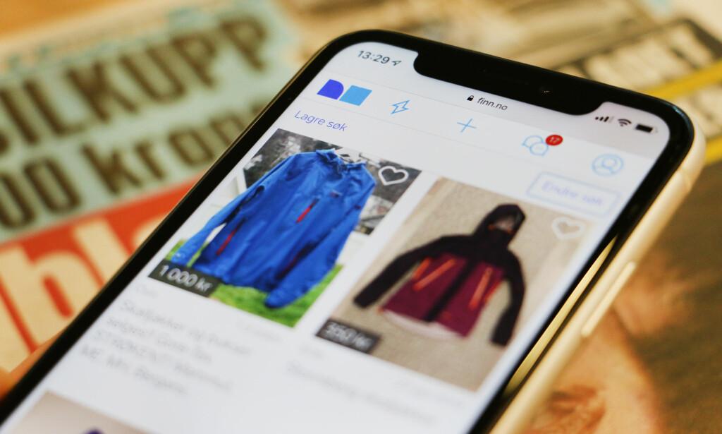 NY JAKKE VAR BRUKT: Informasjonen om brukte klær som selges privat, skal være riktig. Hvis ikke kan kjøper kreve å få pengene tilbake. Illustrasjonsfoto: Berit B. Njarga