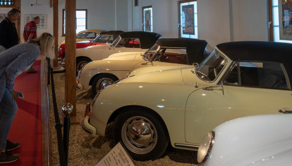IKON: I 1948 kom de første bilene med Porsches familienavn på panseret. Foto: Paal Kvamme