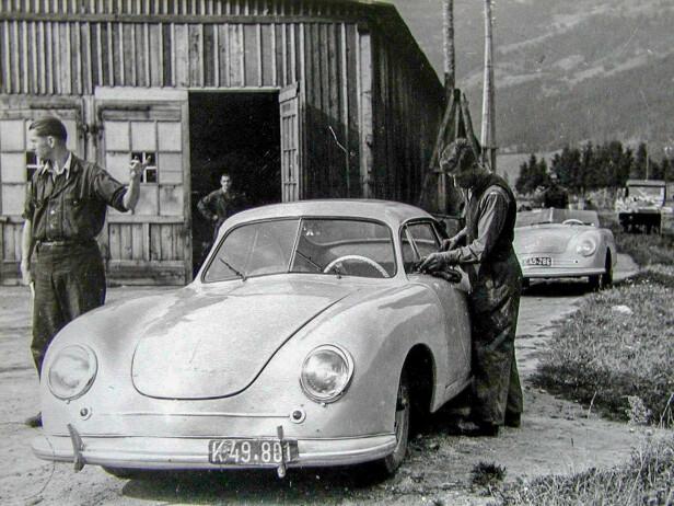 SJELDENT: Kun 52 stykk 356 i aluminium ble bygget i Østerrike. Foto: Porsche Automuseum Helmut Pfeifhofe