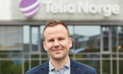 Håkon Lofthus, leder for Telia Privat. Foto: Telia
