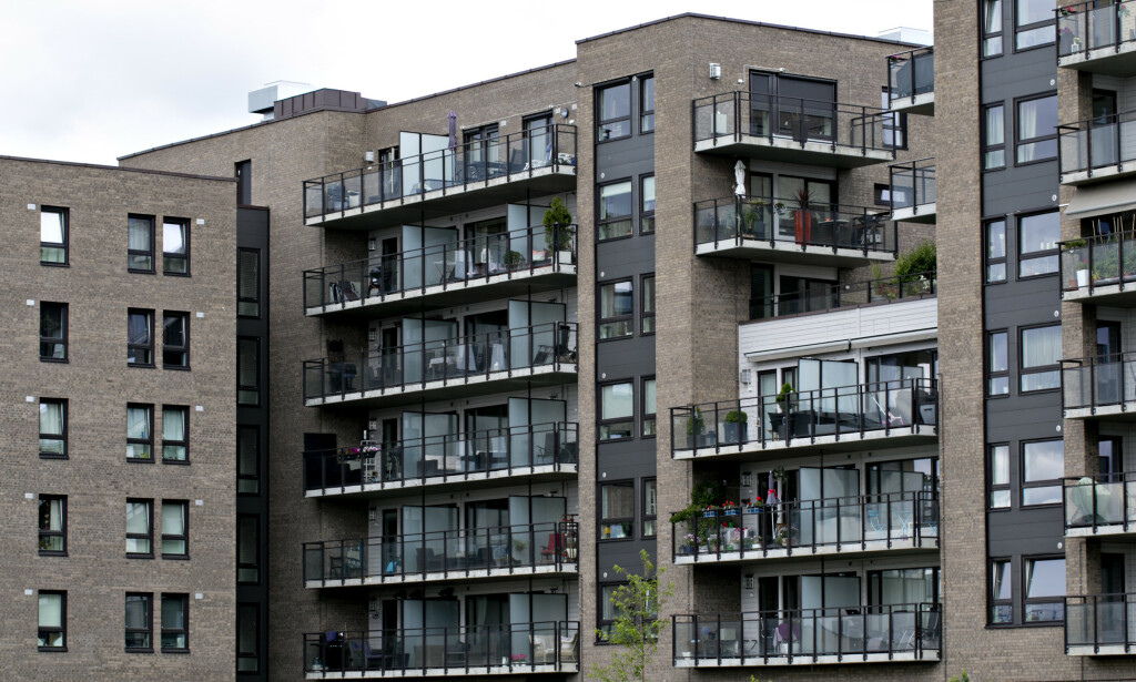 NYE BOLIGER: Spesielt blant unge ser DNB Eiendom økende interesse for nybygde boliger. Bildet er fra Løren i Oslo, som forvandles til en moderne boligby med nybygg, butikker, kafeer og restauranter. Foto: Anette Karlsen/NTB Scanpix.