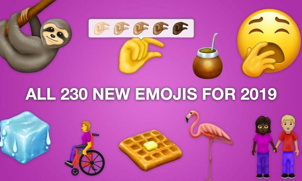 image: Her er årets nye emojier