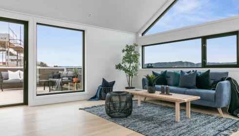 TREND: De fleste husene er tilpasset kunden, men slik kan Trend se ut innvendig. Foto: Norgeshus.