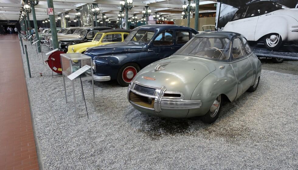 UNIK BILSAMLING: I 1964 kjøpte brødrene 14 biler i boet etter Bugatti-fabrikken i Molsheim, ti mil unna. Slik sikret de seg et av de mest storslåtte kjøretøy som er laget. Foto: Paal Kvamme