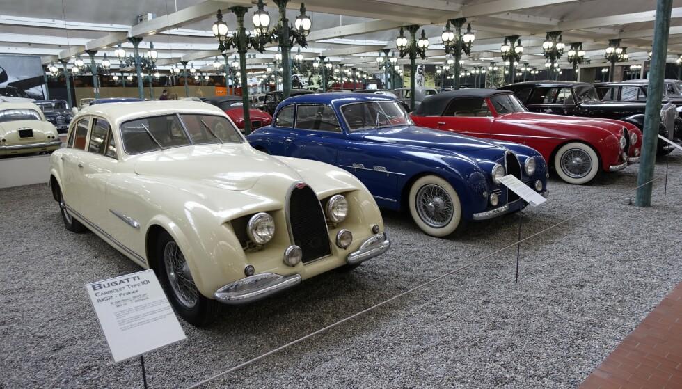 RARINGER: Ikke alt Bugatti laget var like vakkert. Foto: Paal Kvamme