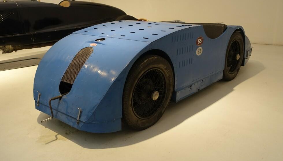 «KJAPPING: Mikro-Bugattien ble målt til 189 km/t.» Foto: Paal Kvamme