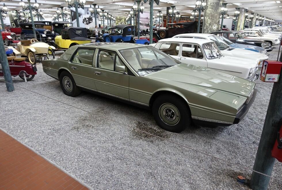 LUKSUSRARING: Aston Marton Lagonda. Foto: Paal Kvamme
