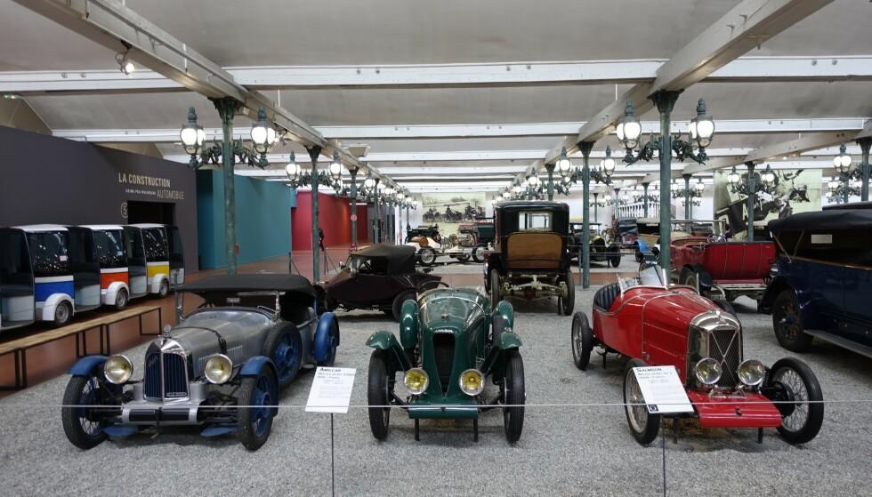 KØ AV BUGATTI: Schlumpf-brødrene kjøpte alt de kom over av Bugatti-biler. Foto: Paal Kvamme