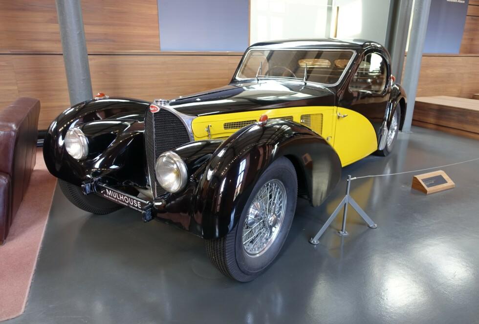 1936 Bugatti 57 S. Foto: Paal Kvamme