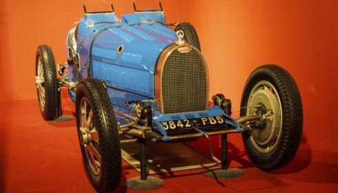STARTPUNKTET: Dette er bilen som startet hele samlingen: Fritz Schlumpfs kompressormatede Bugatti 35B fra 1929. Foto: Paal Kvamme