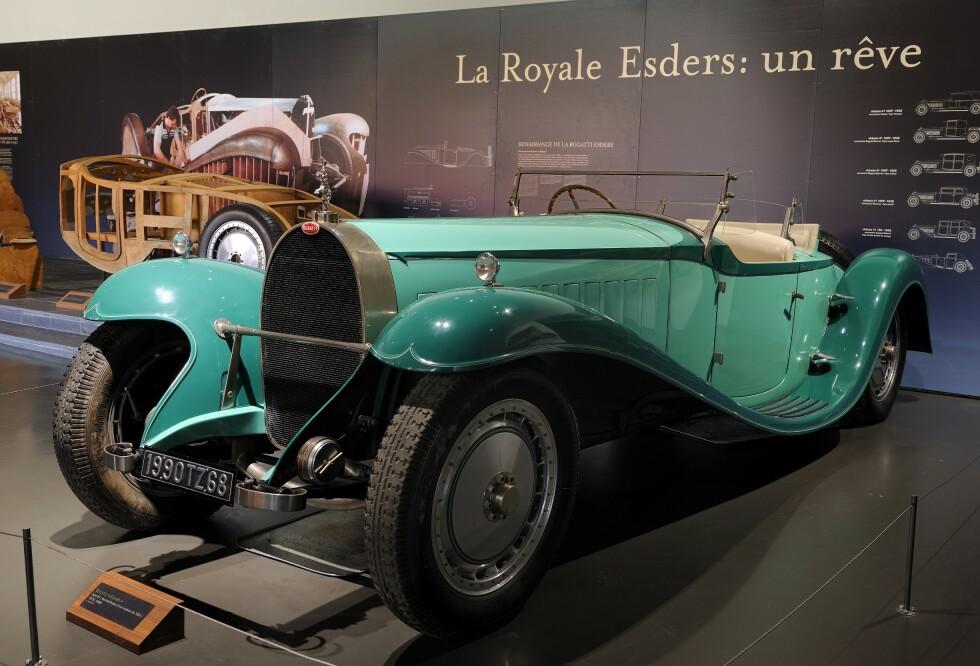 Bugatti La Royale Esders 1931. Foto: Paal Kvamme