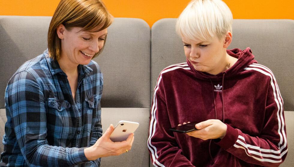 TINGENE ANDROID-BRUKERE ØNSKER SEG: Her er ti ting iPhone har, som Android-brukere ønsker seg. Foto: Pål Joakim Pollen