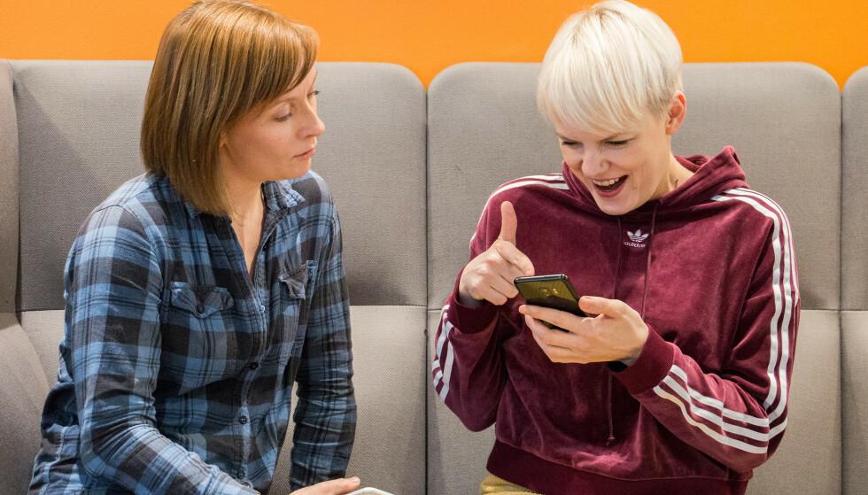 ANDRE VEIEN: Sist så vi på hvilke iPhone-funksjoner Android-brukere ønsket seg. Nå går vi andre veien. Foto: Pål Joakim Pollen