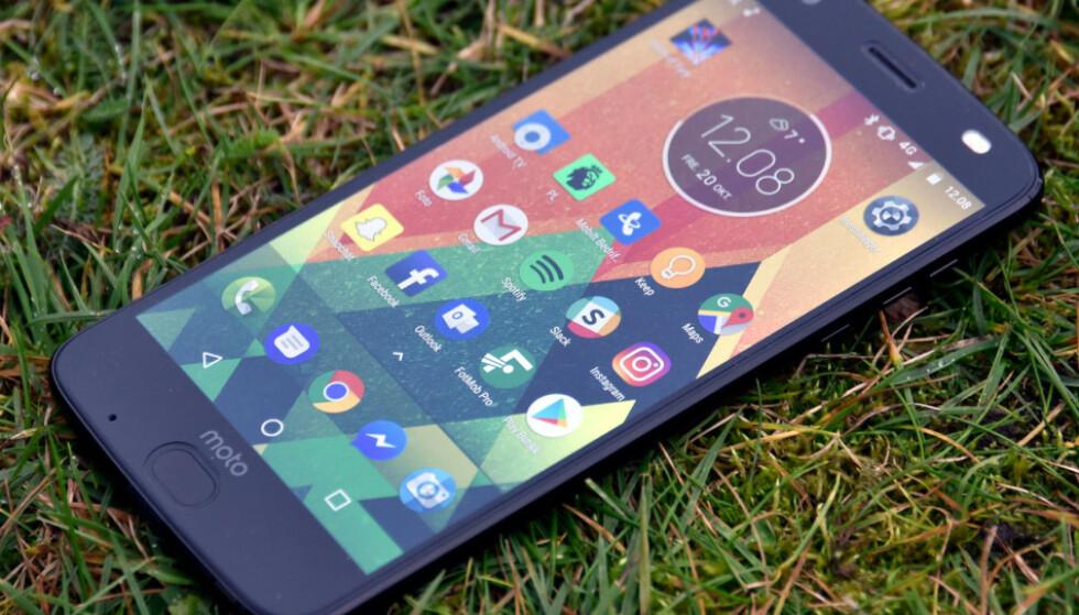 FLEKSIBELT: På Android kan du tilpasse ikonene på hjemskjermen som du vil. Foto: Pål Joakim Pollen