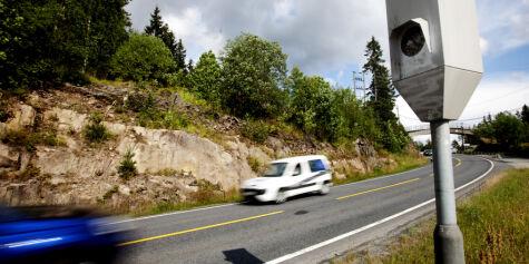 image: De aller fleste kjører for fort