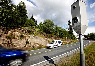 VERST I 80-SONEN: Det er på de mest trafikkerte riksveiene flest oppgir at de kjører over fartsgrensen. Foto: NTB scanpix