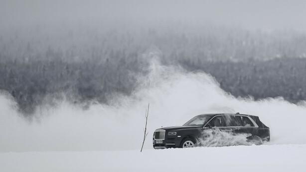 DANS PÅ ISEN: Cullinan imponerte på isen, både fra inn- og utsiden. Foto: Jamieson Pothecary