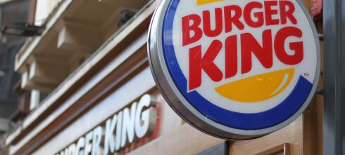 Burger King går forbi McDonald's i Norge