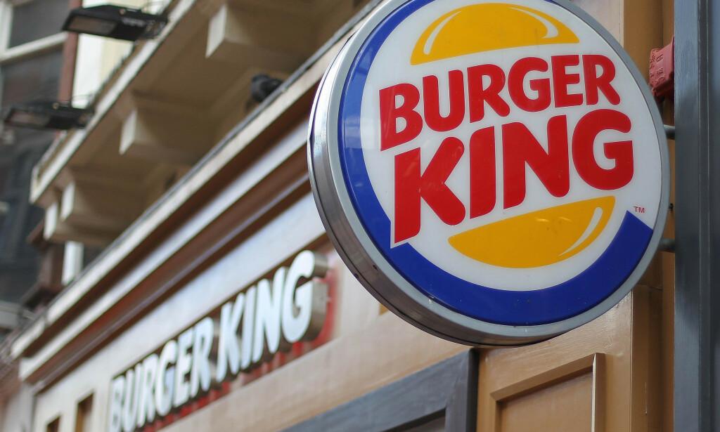 BURGER KING STØRRE ENN MCDONALDS: Etter å ha åpnet elleve nye restauranter i fjor, har Burger King flere restauranter enn McDonalds i Norge. Foto: NTB scanpix