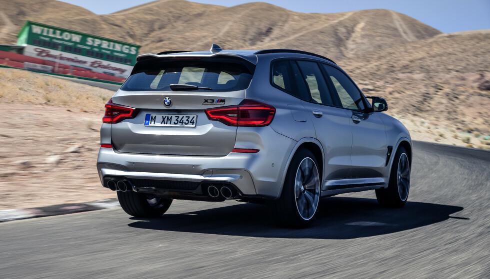 OVER 500 HESTER: Med Competition-pakken, jekkes motoreffekten opp i 510 hestekrefter. Betaler du for det, får du også 280 km/t i toppfart. Foto: BMW