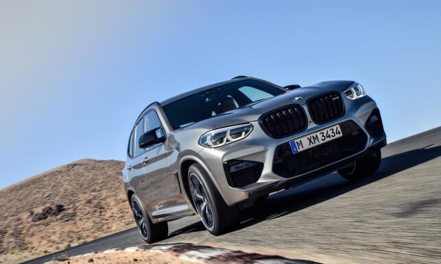 16 ÅR SENERE: Endelig fikk X3 sin M - 2017-generasjonen ble bedømt verdig å få den nødvendige vitamininnsprøytningen til å gjøre om familie-SUV-en til et fartsmonster. Foto: BMW