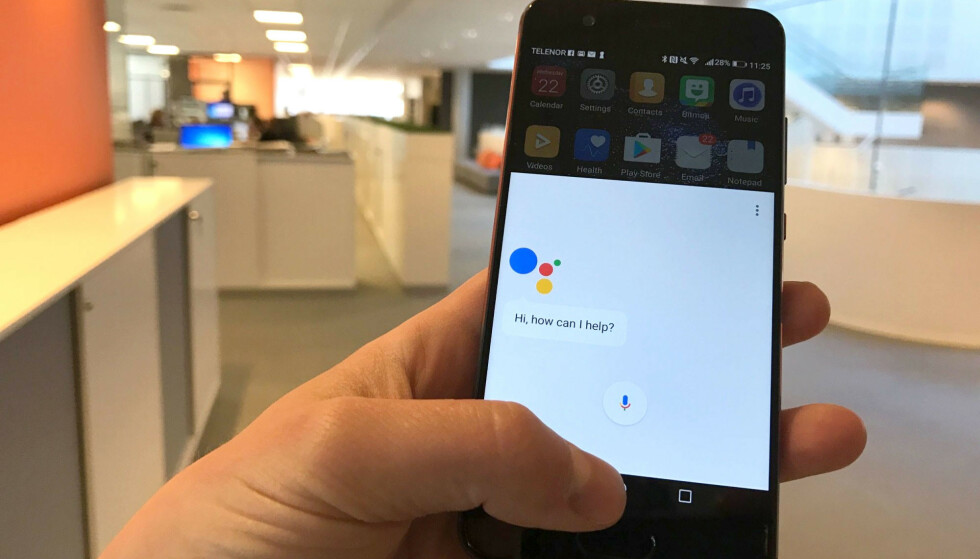 BEDRE: Google Assistant får bedre skussmål enn Apple Siri. Foto: Dinside