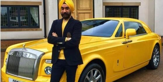 Kjøpte seks nye Rolls Royce for å matche turbanene