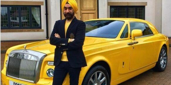 image: Kjøpte seks nye Rolls Royce for å matche turbanene
