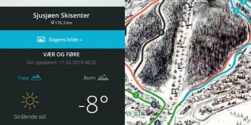 image: Geniale apper for skiturer