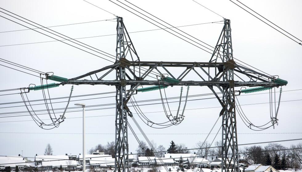 <strong>HOLDER HØYDEN:</strong> Analysesjef i Wattsight mener strømprisene ligger an til å holde seg mellom 40 og 45 øre kilowattimen i ren kraftpris resten av året. Foto: Ole Berg-Rusten/NTB Scanpix.