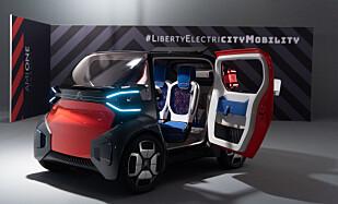 GODKJENT I NORGE?: Om norske myndigheter vil godkjenne en slik bil for 16-åringer, gjenstår å se. Foto: Citroën
