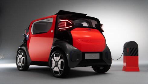 KAN LEIES: Planen er at bilen kan leies for en time, et døgn eller ei uke ved bruk at telefonen din. Foto: Citroën