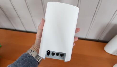 Huawei Q2 har tre LAN-kontakter.