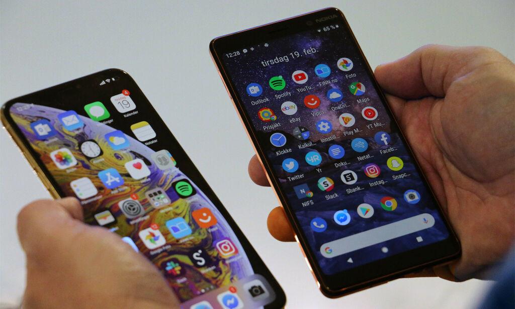 image: - Latterlig liten forskjell på dyr og billig telefon
