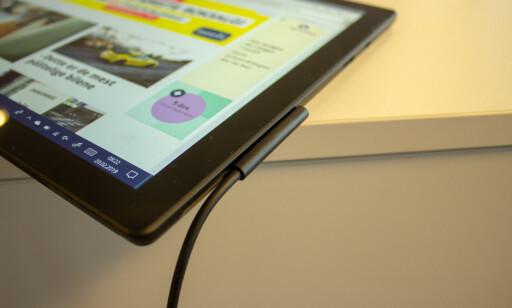 Microsoft sverger til sin egen ladekontakt. Foto: Martin Kynningsrud Størbu