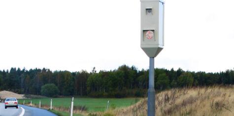 image: Regjeringen vil ha færre fotobokser som måler snittfart