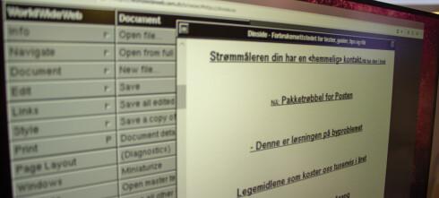 Internet Explorer fortsatt nest størst i Norge