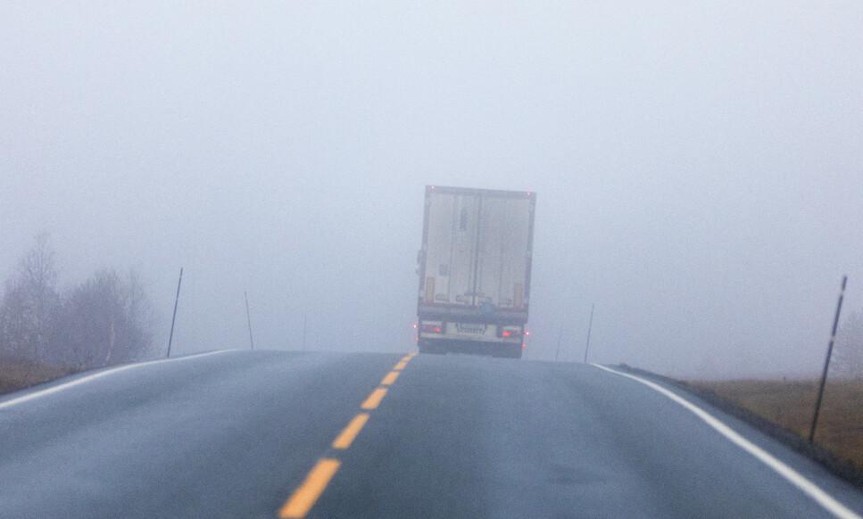 FÅ BLIR SJEKKET: Kun 3 prosent av alle vogntog som krysser Norges grense blir kontrollert. Norges Lastebileierforbund sier det er altfor få. Illustrasjonsfoto: Gorm Kallestad/NTB scanpix