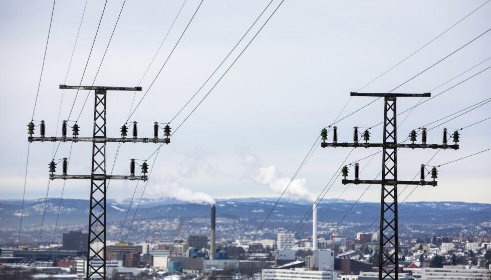 <strong>REKORDHØY:</strong> Ferske tall fra SSB viser strømpriser på et nivå de aldri har sett før, og vi må åtte år tilbake for å finne strømpriser på nivå med dagens. Foto: Ole Berg-Rusten/NTB Scanpix.