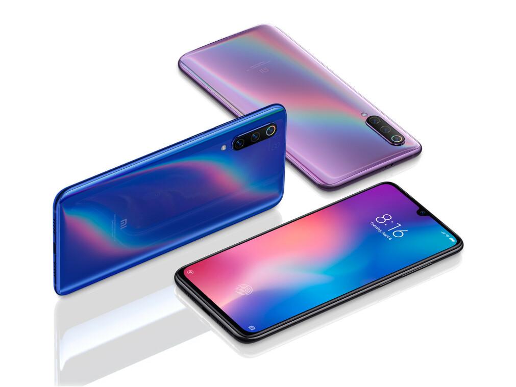 RIMELIG TOPPMODELL: Der mange av konkurrentene koster 8-9.000 kroner, har Xiaomi tenkt til å ta 4600 kroner for sin nye toppmodell, Mi 9. Foto: Xiaomi