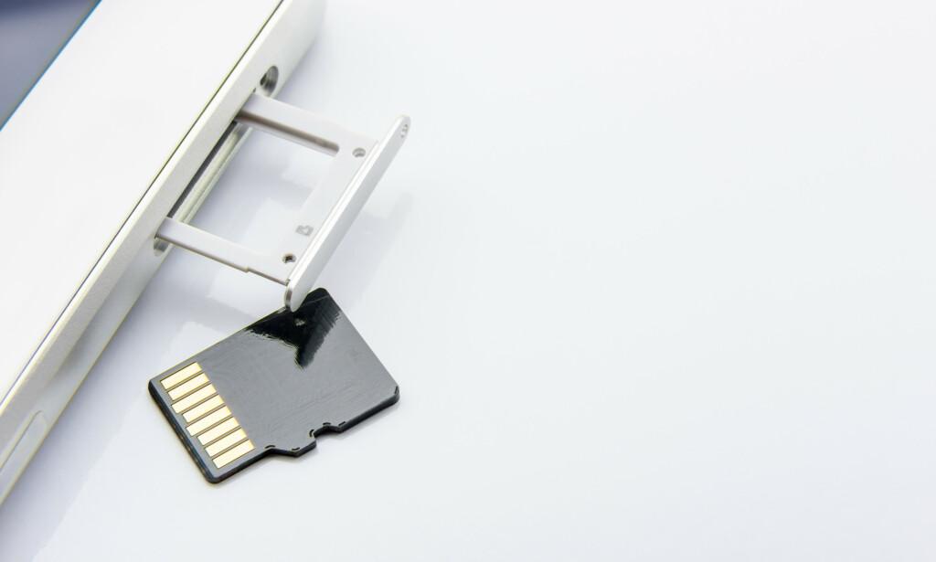 BLIR RASKERE: SD- og Micro SD Express blir rundt ti ganger raskere enn dagens typiske minnekort. Foto: Shutterstock / NTB Scanpix