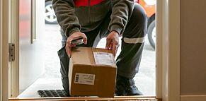image: Posten med en helt spesiell pakkenyhet
