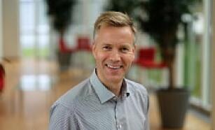 JON BERGE: Jon Berge er kommunkasjonsdirektør ved If forsikring. Foto: If forsikring