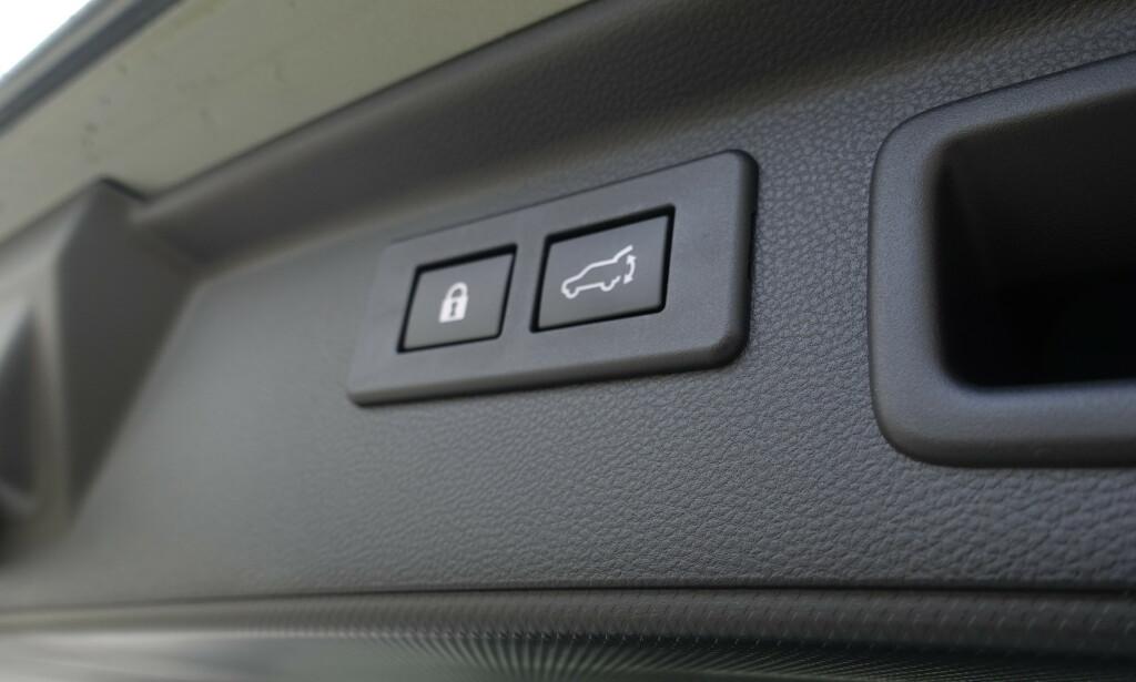 HØRER PÅ KUNDENE: Nå kan du også låse hele bilen når du lukker bakluka.