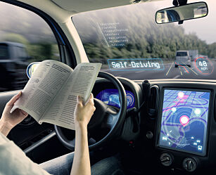image: - Norge er blant landene som er best tilrettelagt for selvkjørende biler