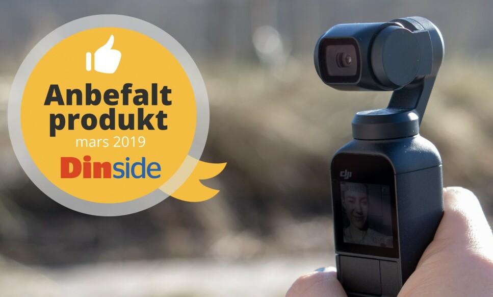 DJI OSMO POCKET: Dette kameraet er et lite råskinn i lite format. Foto: Martin Kynningsrud Størbu