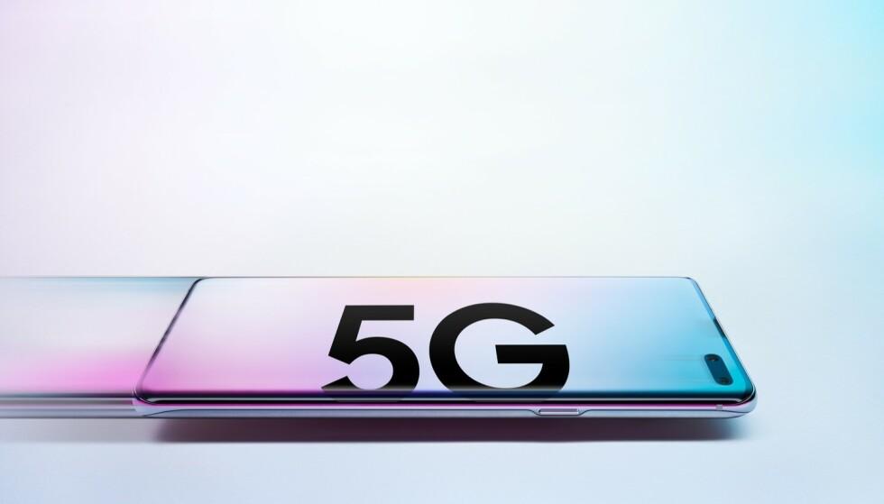5G: I år kommer 5G-mobilene, men det er ikke før neste år at du får ordentlig nytte av dem i Norge. Foto: Samsung