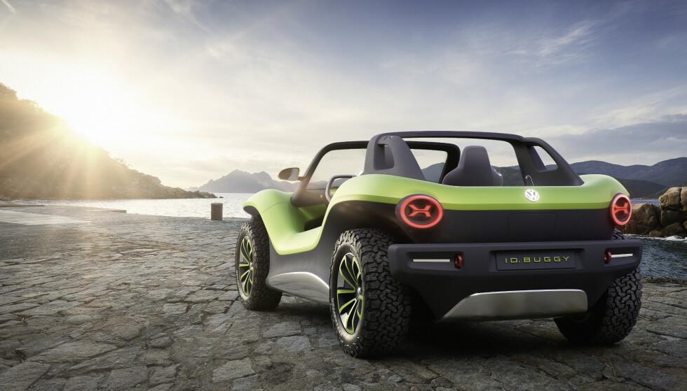 VEKKER FØLELSER: Med en elektrisk Buggy, inspirert fra 60-tallet, skal vise at det er mulig med elektriske biler som vekker følelser. Foto: VW