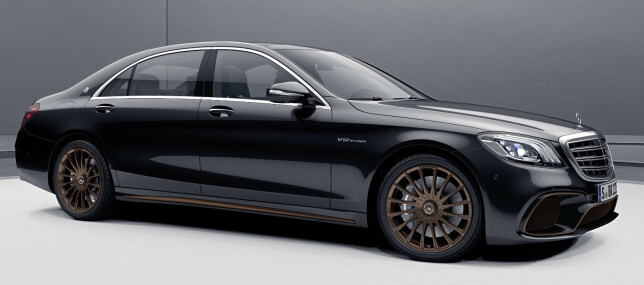 HYLLEST: Er dette den siste V12 fra Mercedes? Foto: Jamieson Pothecary